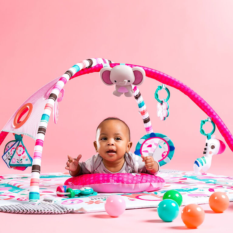 5-in-1 Your Way Ball Play Pink Activity Gym