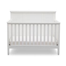 Delta Children Epic 4-in-1 Crib - White||Delta Children Epic 4-in-1 Crib - White