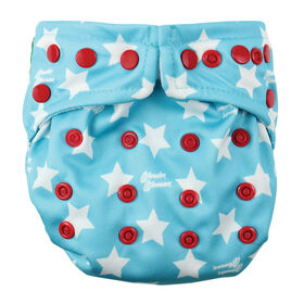 Bumkins Snap-in-One Diaper- Wonder Woman