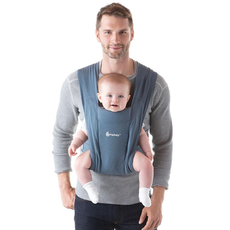 Porte-bébé nouveau-né confortable Embrace d'Ergobaby - Bleu Oxford