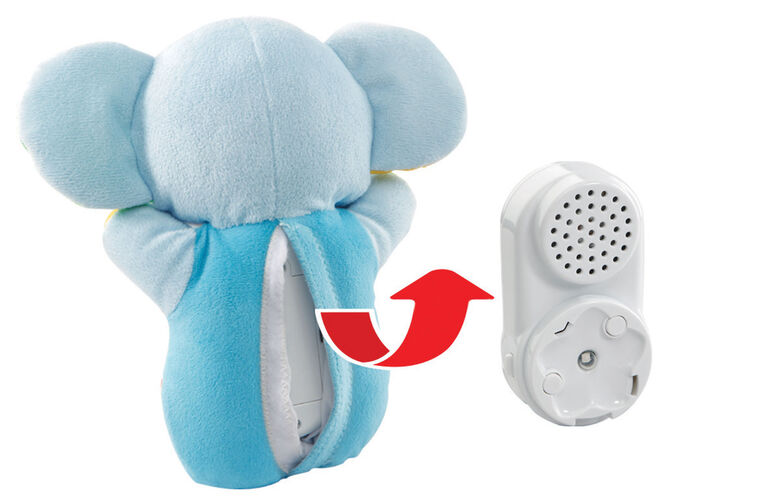 VTech® Glowing Lullabies Elephant™ - Blue - French Edition