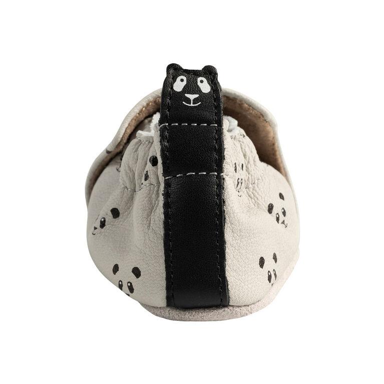 Robeez - Soft Soles Panda Light Grey 18-24M
