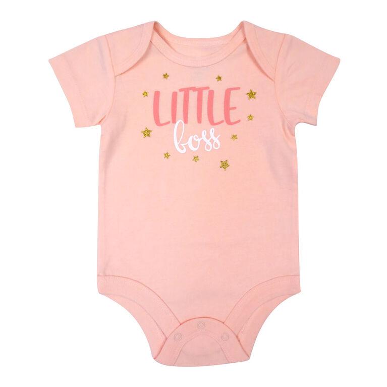 Rococo Bodysuit - Pink, 3-6 Months
