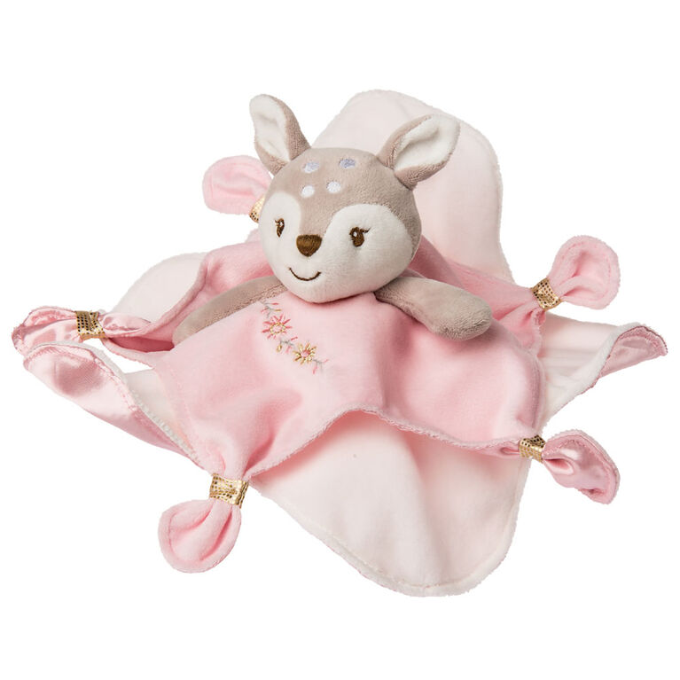 Mary Meyer - Itsy Glitzy Fawn Character Blanket 13 inch