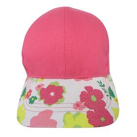 Casquette De Baseball Baby B - Florale, Rose, 12-24M