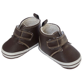 So Dorable Pre Walker B - Hi Top Velcro-Chestnut   6-9M