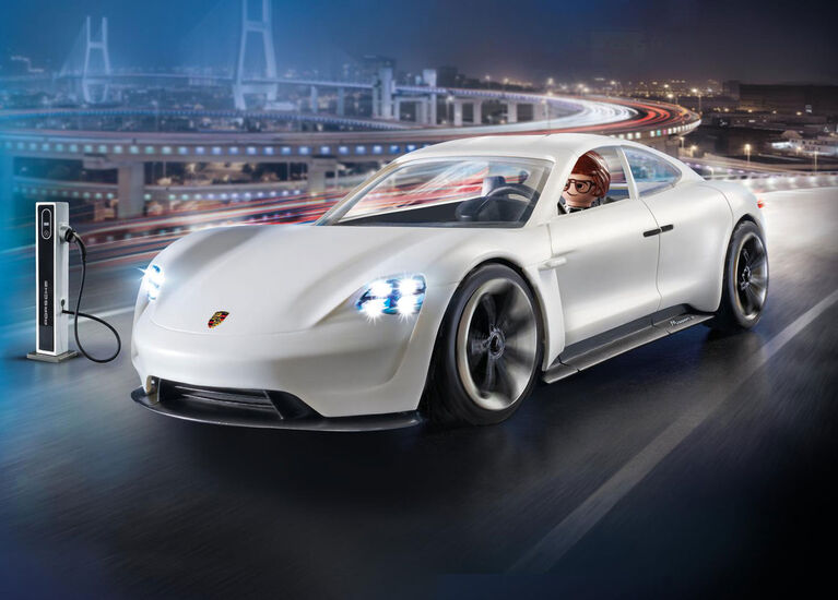 Playmobil - Rex Dasher et Porsche Mission E