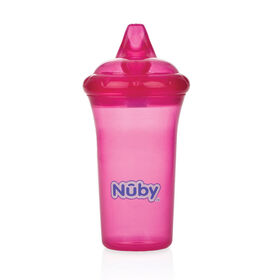 Nuby No-Spill Cup 9oz. - Pink