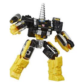 Transformers Sélection Générations, Powerdasher Zetar WFC-GS08, figurine War for Cybertron de classe Deluxe - Notre exclusivité