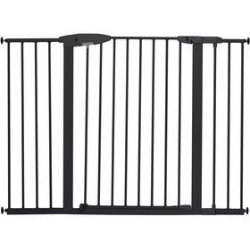 Barrière métal haute et longue à fermeture pratique par Brica - Notre exclusivité
