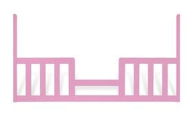 Child Craft Toddler Guard Rail for London Crib - Princess Pink
