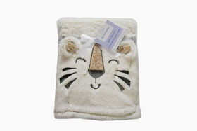 Koala Baby Fun Fur 3D Blanket White Tiger