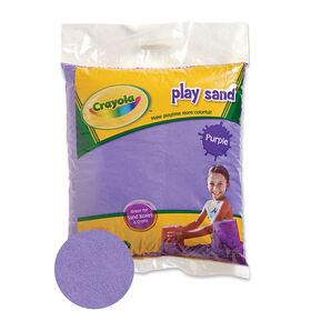 Crayola - Sable pour jouer coloré 9 kg - Violet