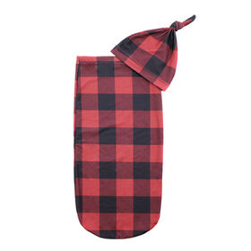 Itzy Ritzy - Cutie Cocoon/Buffalo Plaid/Red/ - One Size