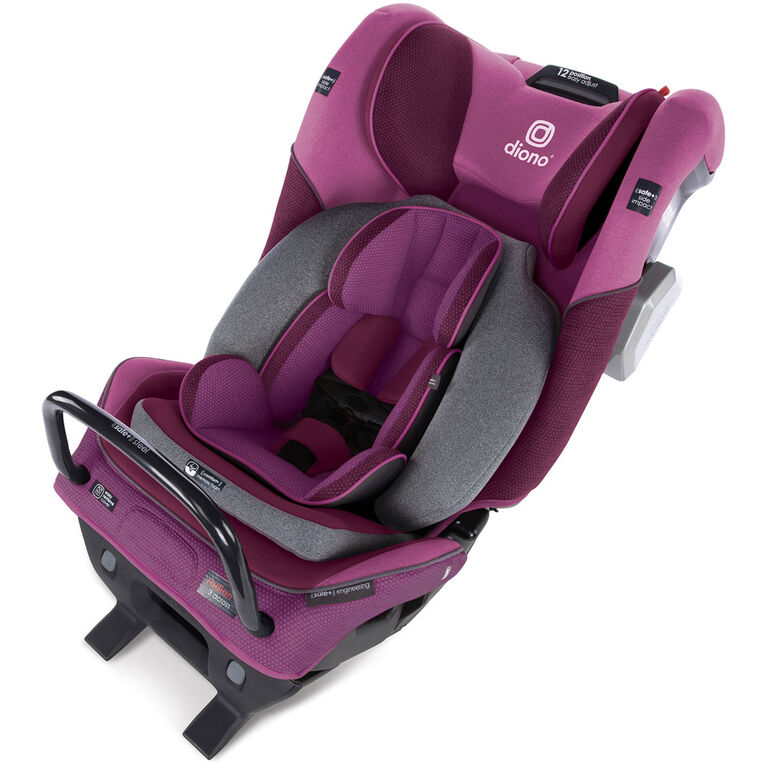 Radian 3Qxt Latch All-In-One Convertible Car Seat - Purple Plum