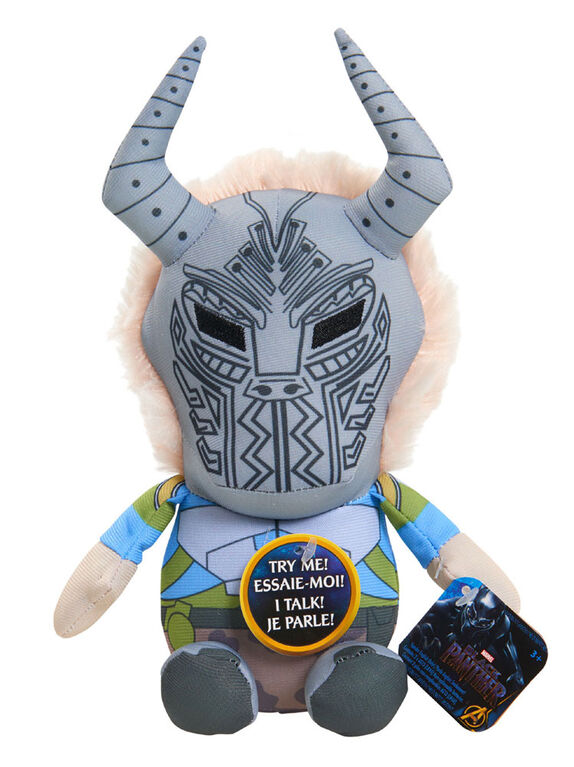 Peluche Slammers de Marvel Black - Killmonger
