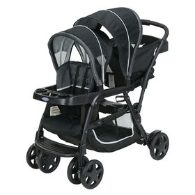 Graco Ready2Grow Click Connect Stand and Ride Stroller - Gotham