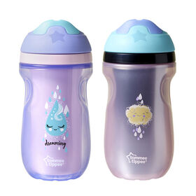 Tommee Tippee Insulated Sipper Tumbler 9 oz, 2-Pack - Dreaming