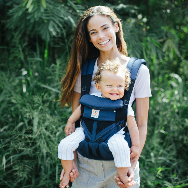 Ergobaby Omni 360 Cool Air Mesh All-in-One Ergonomic Baby Carrier - Raven