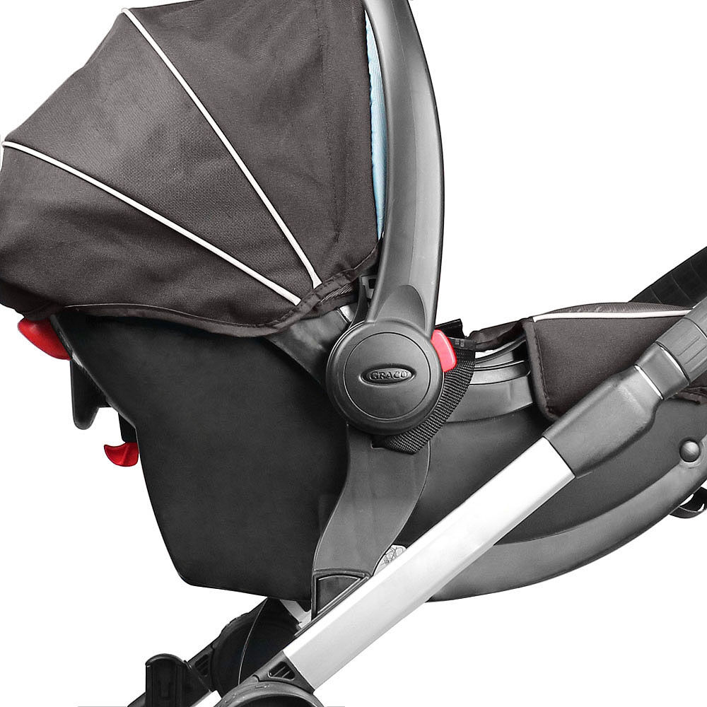 Select//Versa Graco Click Connect Stroller Black Baby Jogger Car Seat Adapter