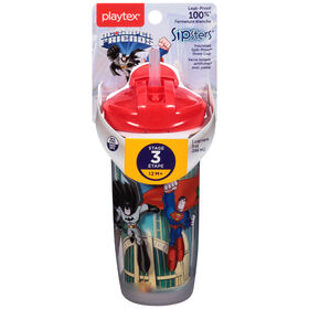 Playtex - DC Super Friends Batman PlayTime 9 oz Straw Cup - Blue