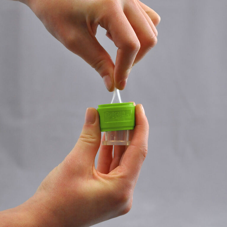Water Bottle Spout Adapter - Green