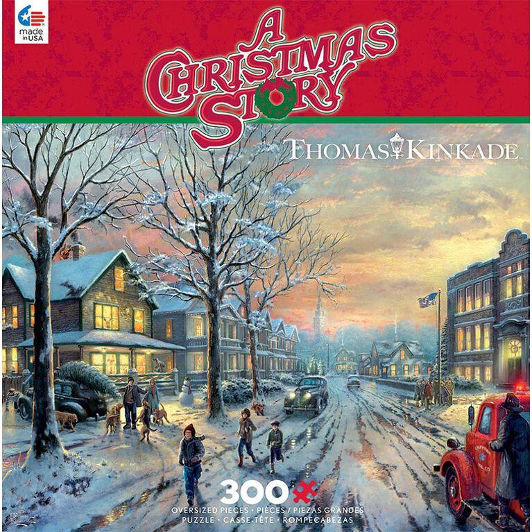 Ceaco Thomas Kinkade - A Christmas Story Casse-Têtes (300 Pc)