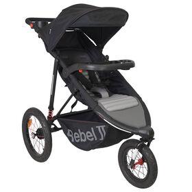 Rebel Jogging Stroller - Black/Grey