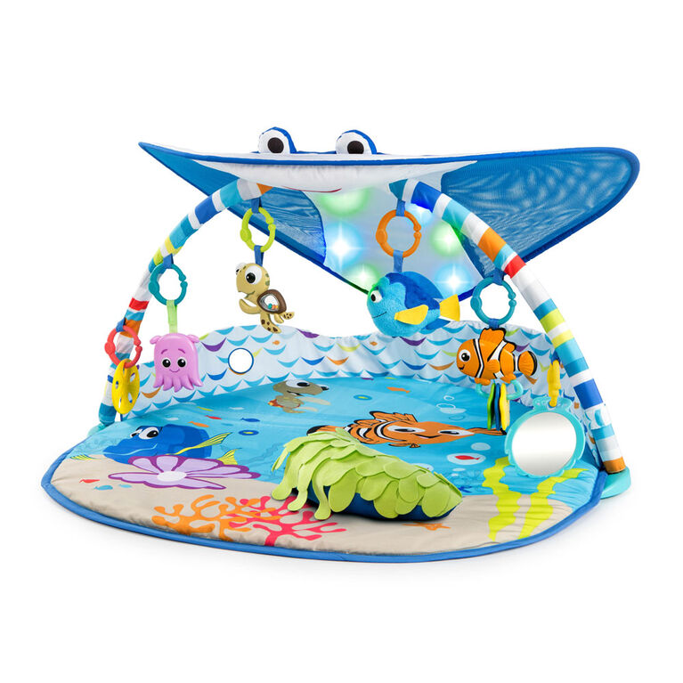 Disney Baby Mr Ray Ocean Lights Activity Gym Babies R Us