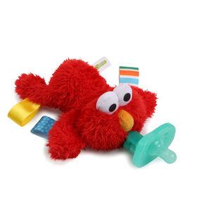 Tétine apaisante sans BPA avec jouet en peluche Sesame Street Cozy Coo - Elmo