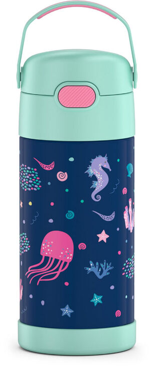 Thermos FUNtainer Bottle, Ocean, 355ml