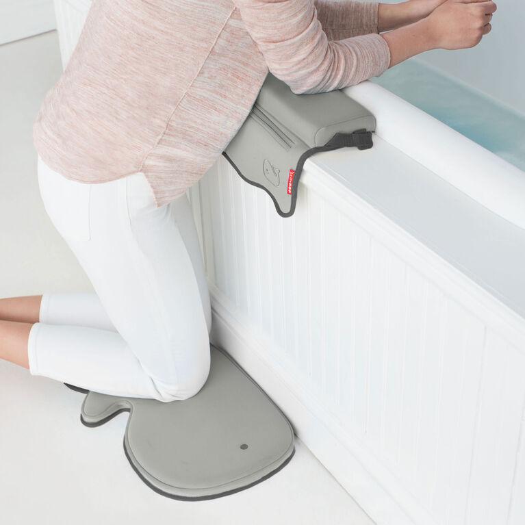 Appui-coude Moby pour baignoire de Skip Hop - Gris.