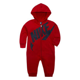 Nike Coverall- Red,- 6-9 Months