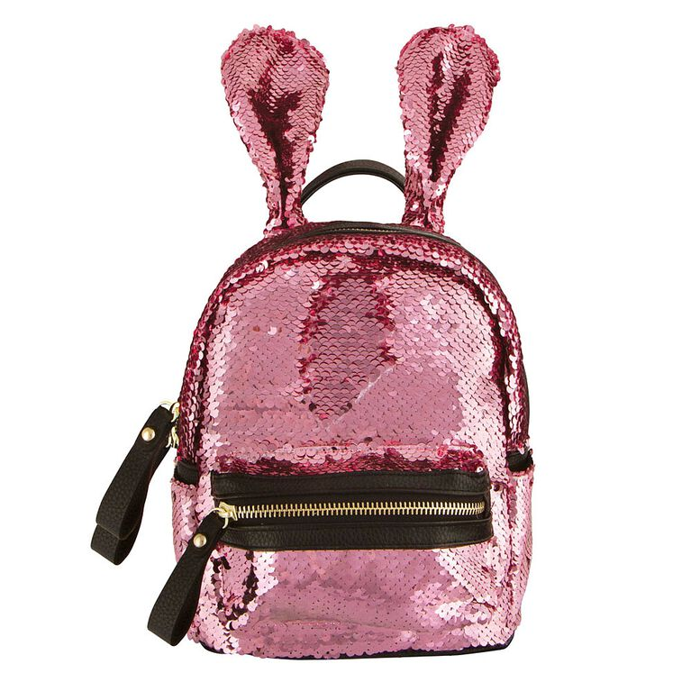 S. Lab Sequin Bunny Mini Backpack