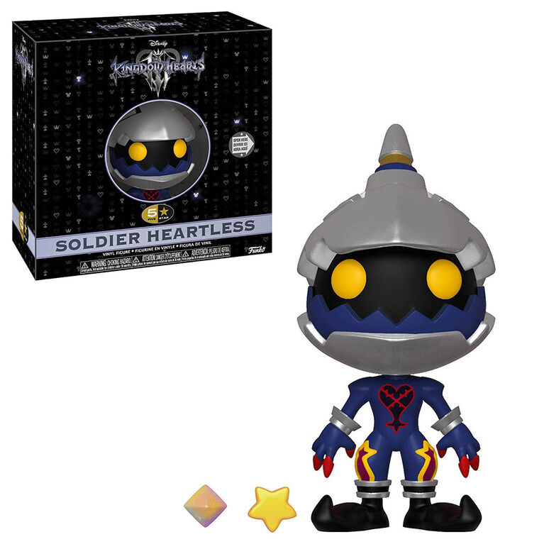 Figurine en vinyle Soldier Heartless de Kingdom Hearts 3 par Funko 5 Star!.