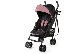 Poussette pratique par excellence 3DliteMD+ en rose noir mat Summer Infant<br>.