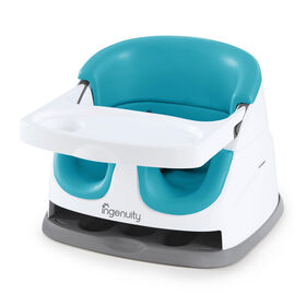 Ingenuity Baby Base 2-in-1 Seat - Peacock Blue