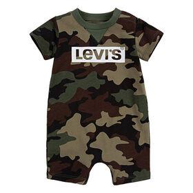 Levis Barboteuse - Camouflage, 0-3 mois nouveau née