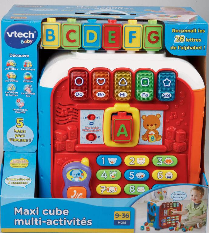 Vtech - Maxi cube multi-activités - Édition française