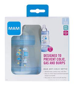 Mam Anti Colic Bottle 2 Pack 5oz - Blue