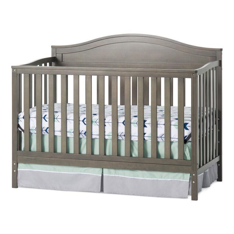 Lit de bébé Convertible 4-en-1 Sidney de Child Craft - gris dapper.