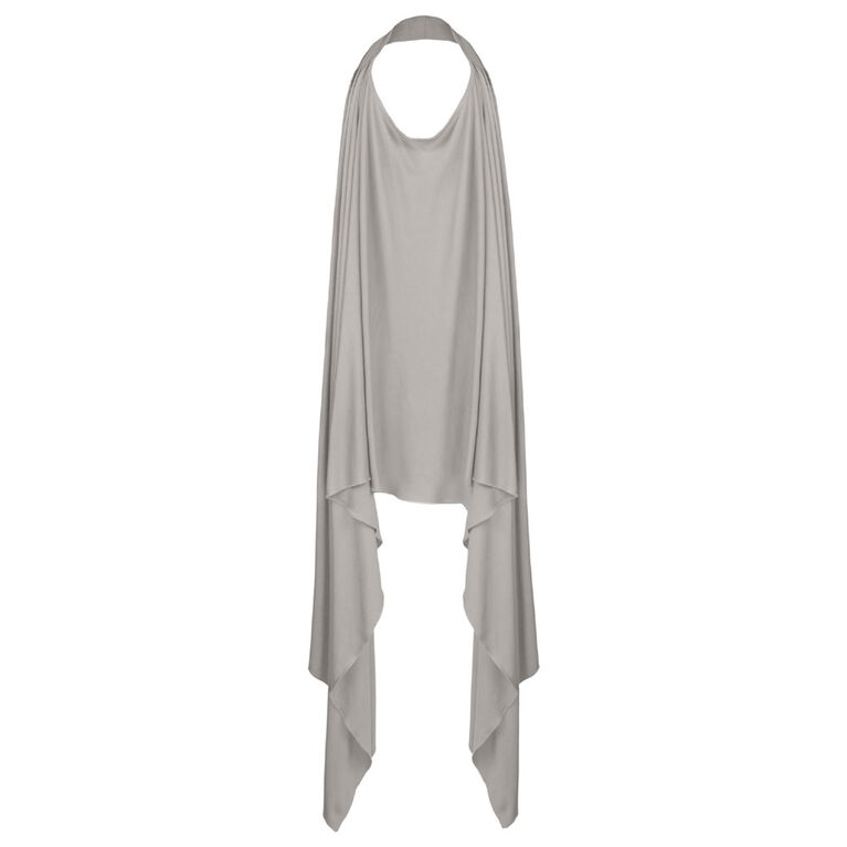 Kushies - Peekaboob Nursing Scarf - Grey