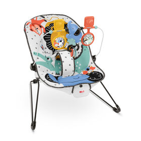 Fisher-Price Baby's Bouncer - Lion Around Soothing Infant Seat