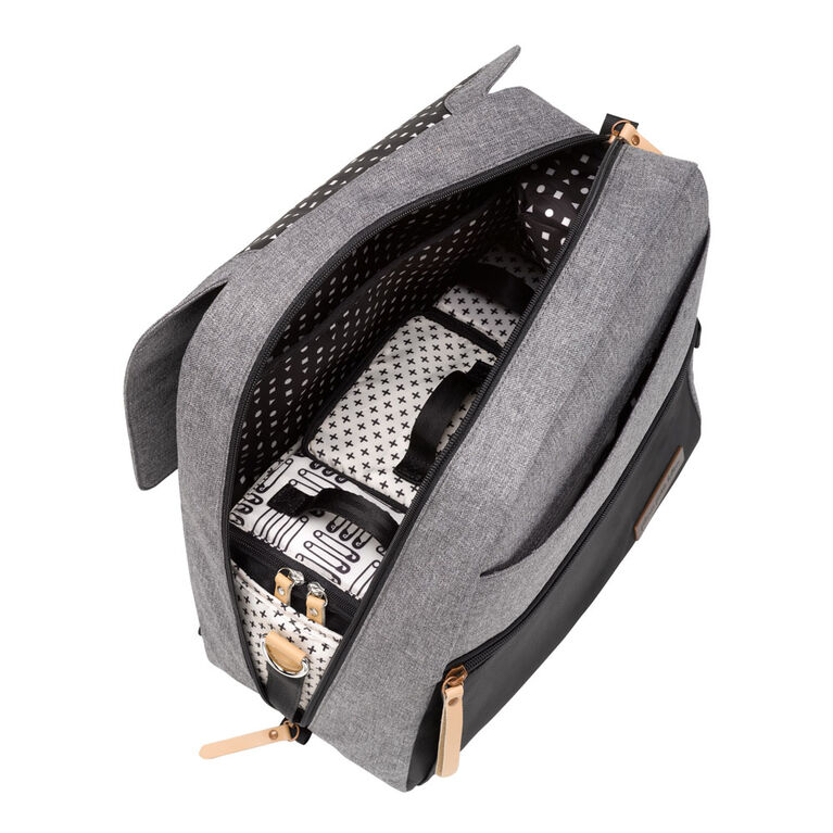 Petunia Pickle Bottom - Meta Backpack in Black / Graphite - Sac à dos pour sac à langer