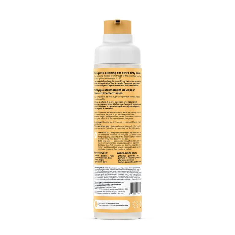 Hello Bello - Shampoo & Body Wash - Apricot & Vanilla 250ml