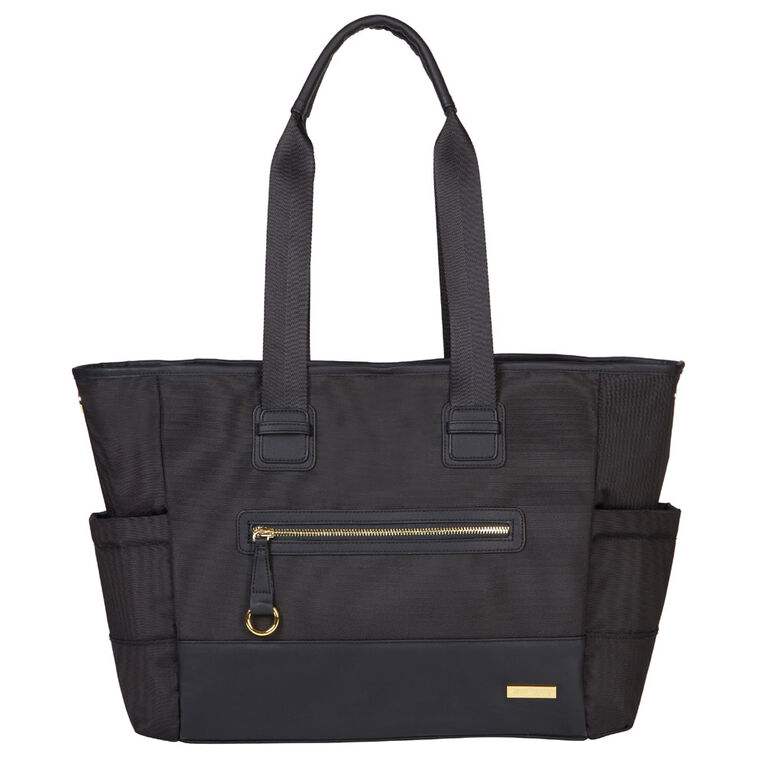 Skip Hop CHELSEA 2 in 1 Downtown Chic Diaper Tote - Black
