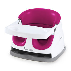 Ingenuity Baby Base 2-in-1 Seat - Pink Flambe