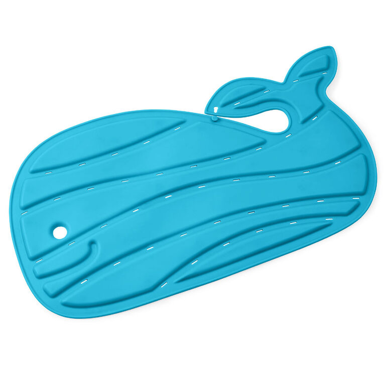 Moby Bath Mat - Blue