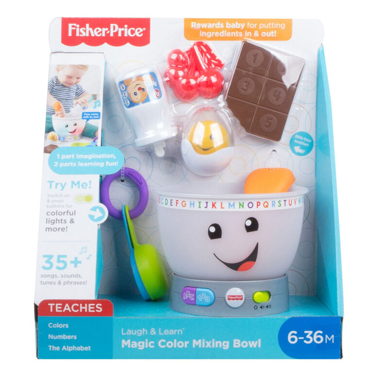 Fisher-Price Laugh & Learn Magic Color Mixing Bow