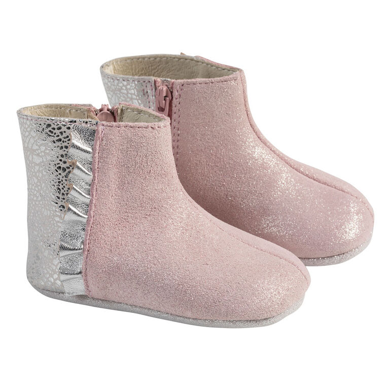 Robeez - FirstKicks Pink Shimmer 12-18M